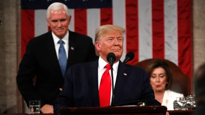 State Of The Union 2020 Live Updates Trump Addresses The Nation