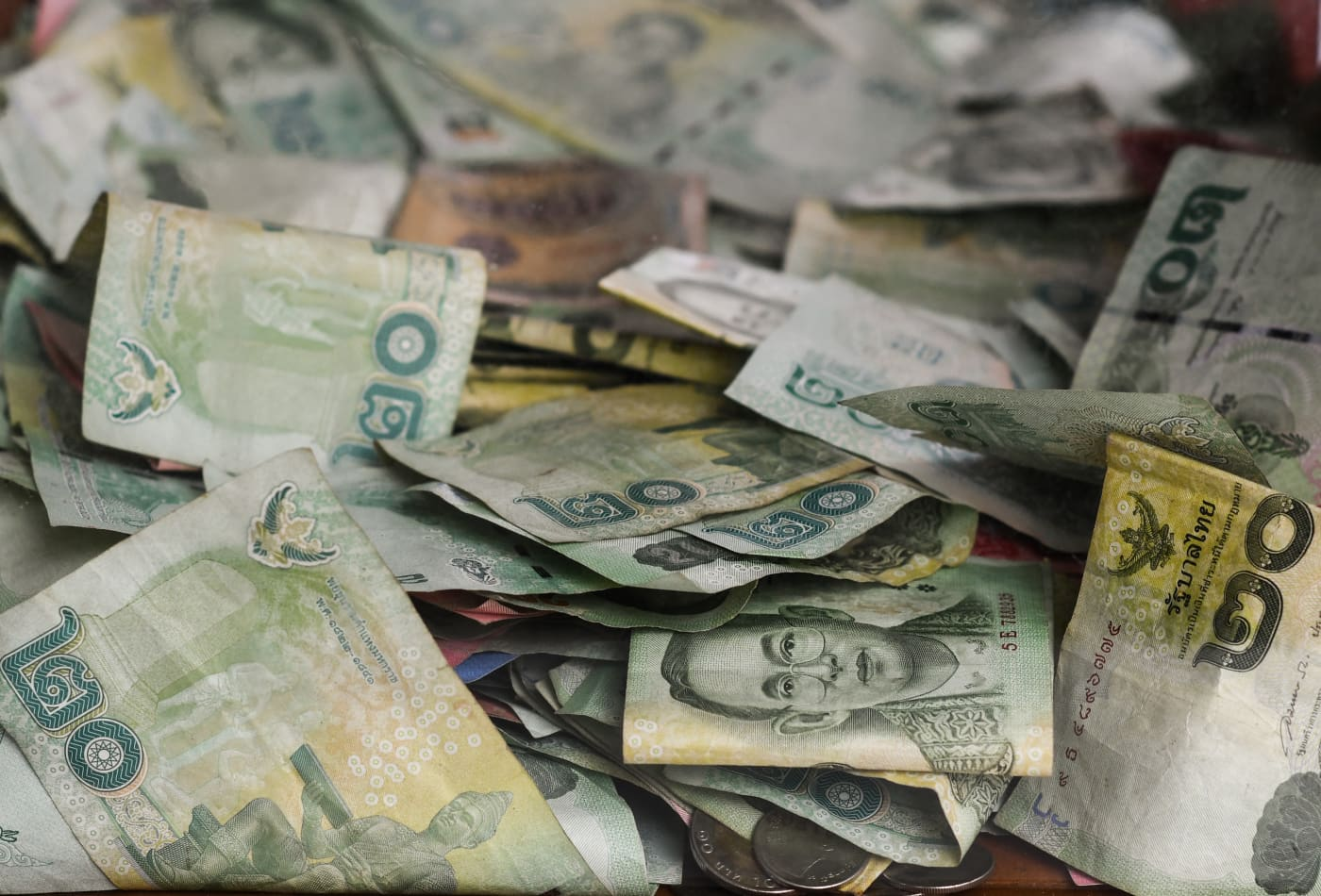 Once Asia's top performer, the Thai baht is now becoming the region's worst-hit currency