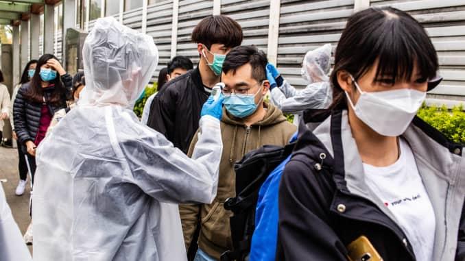 GP: Coronavirus people screened arriving from China 200204