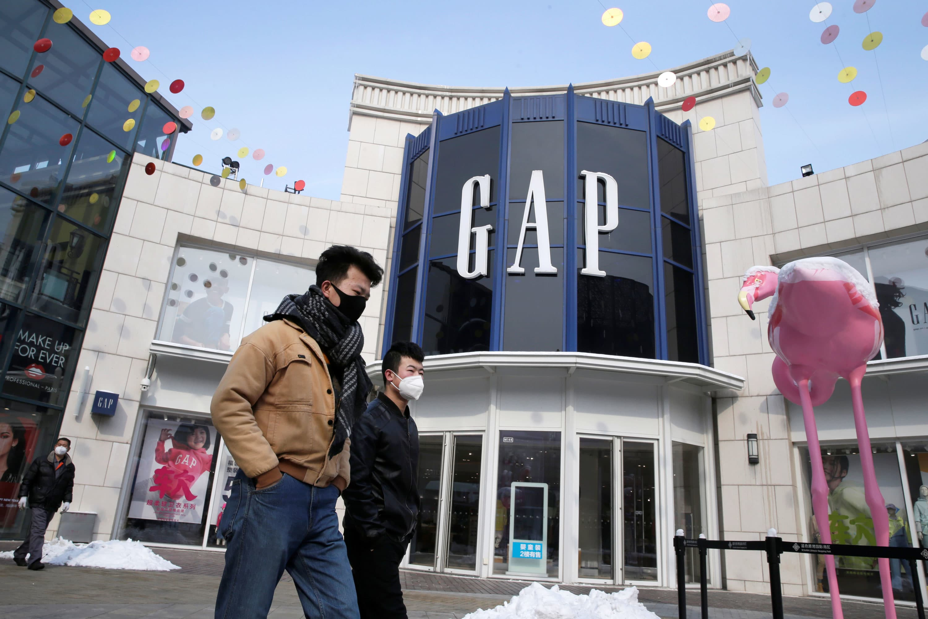 Gap stops paying rents, warns it might not have enough cash