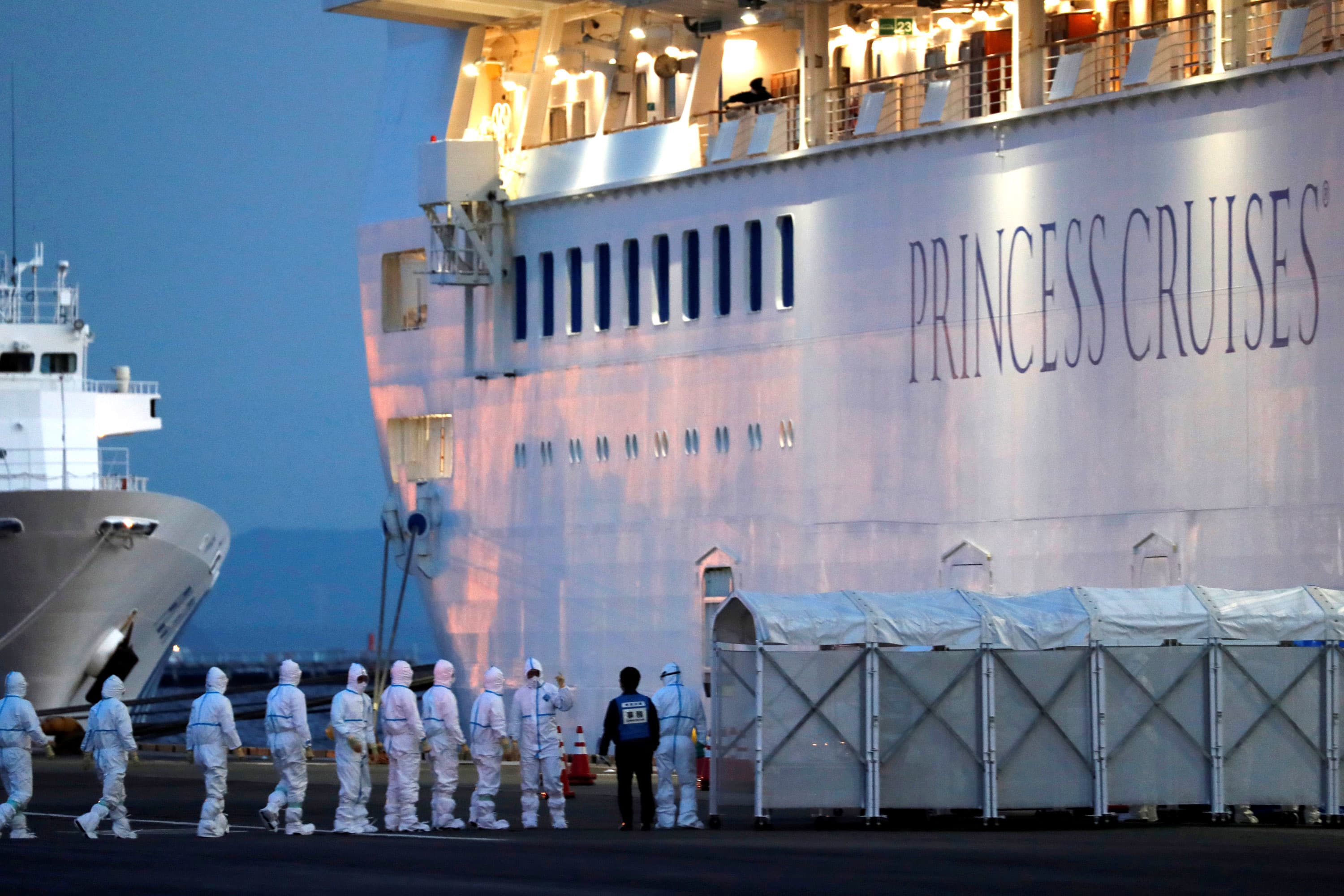 coronavirus survived in Princess Cruise cabins up to 17 days after passengers left