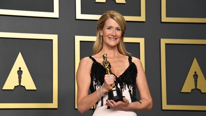 GP: Laura Dern wins oscar best supporting actress