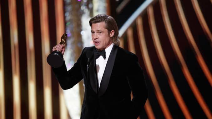 GP: Brad Pitt wins best supporting actor Oscars 2020