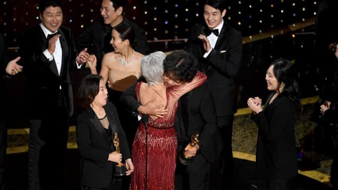 GP: Parasite wins 92nd Annual Academy Awards - Show