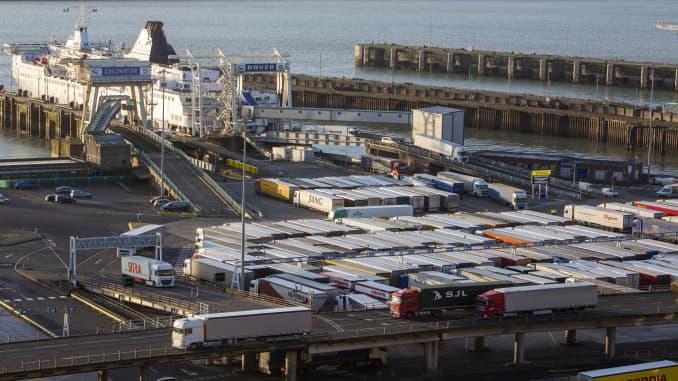 GP: Port Of Dover In The United Kingdom