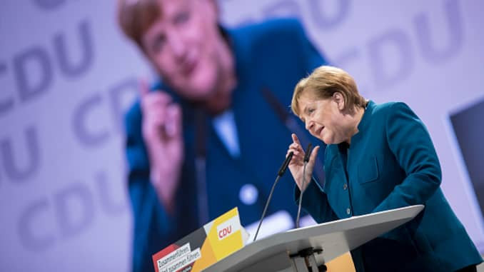 Premium: CDU Holds Federal Party Congress To Elect Successor To Angela Merkel