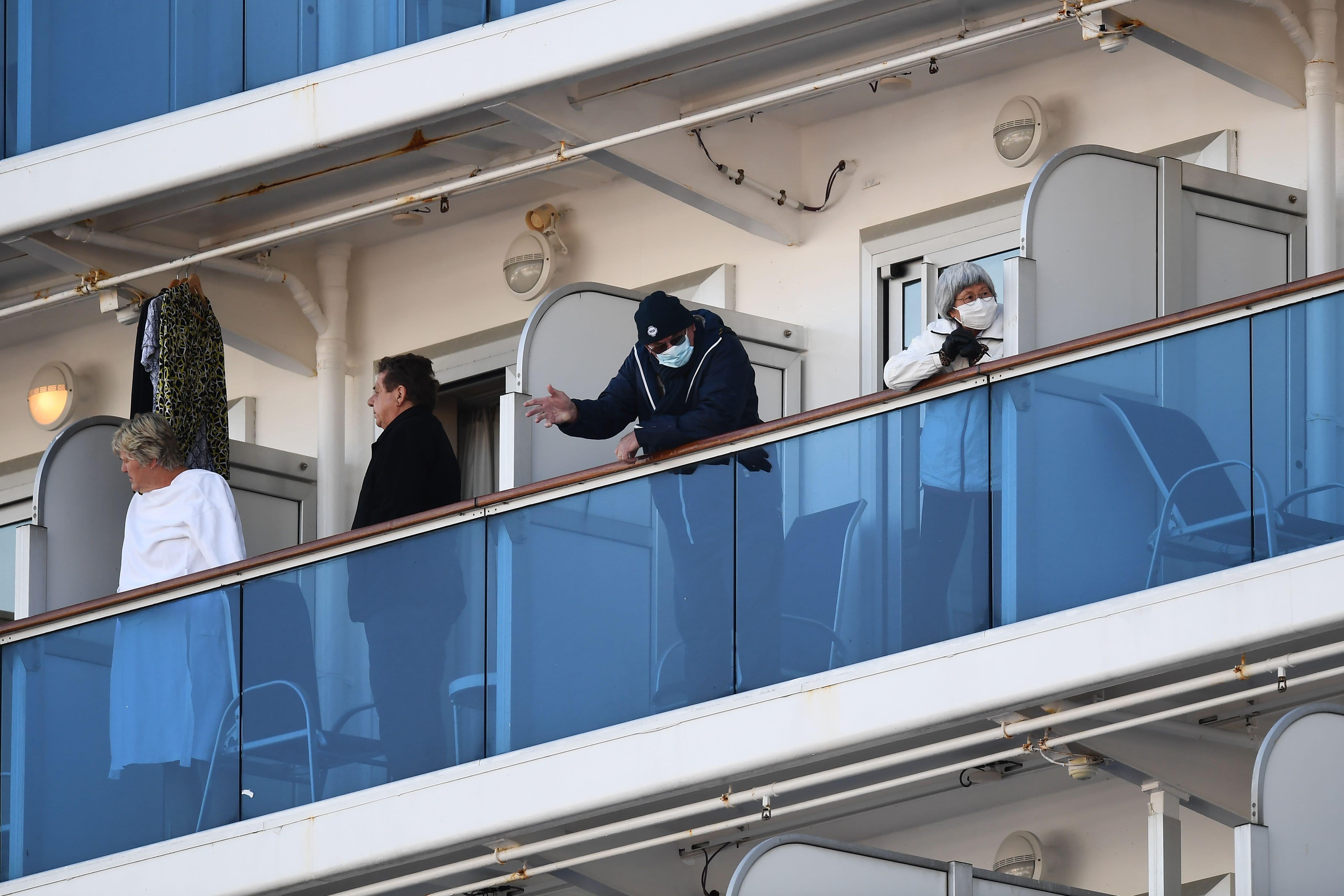 Coronavirus quarantine on a cruise ship: 'Trapped in your bathroom'