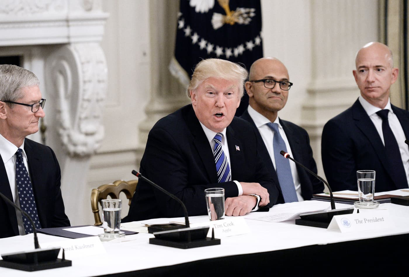 Amazon wants to depose Trump, accuses him of 'bias' after losing $10 billion Pentagon cloud contract