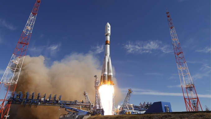 GP: Soyuz rocket blasts off from Plesetsk Cosmodrome