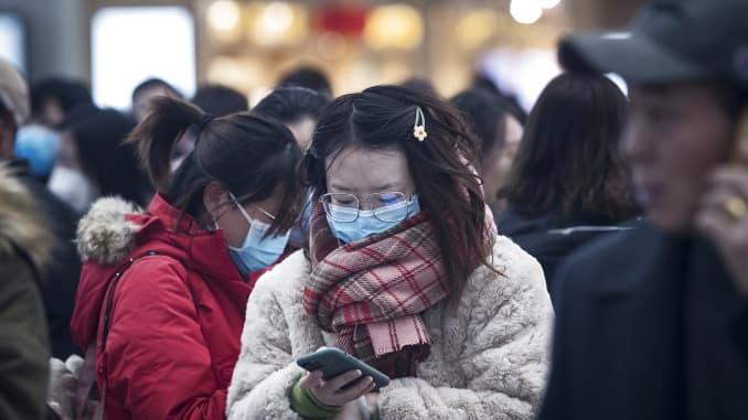 ویروس کرونا در چین سال ۲۰۲۰