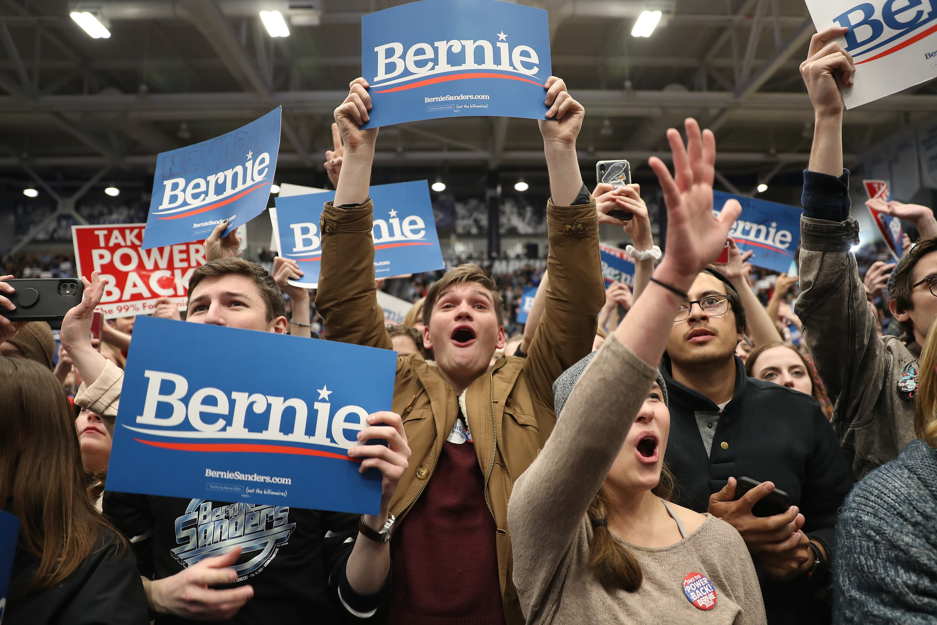 What to watch today: Dow to rise, Bernie takes New Hampshire, Powell back on the Hill