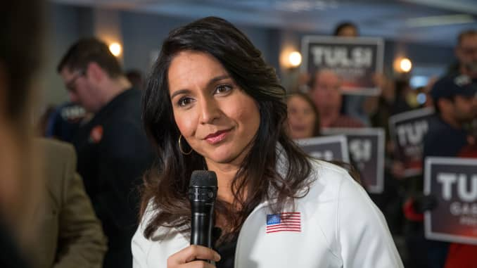 Tulsi Gabbard drops out of presidential race, endorses Biden