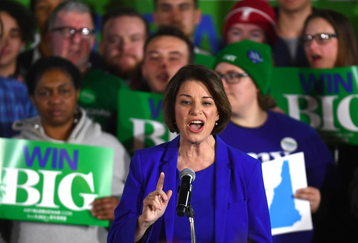 Amy Klobuchar says campaign has raised over $12 million online since New Hampshire debate