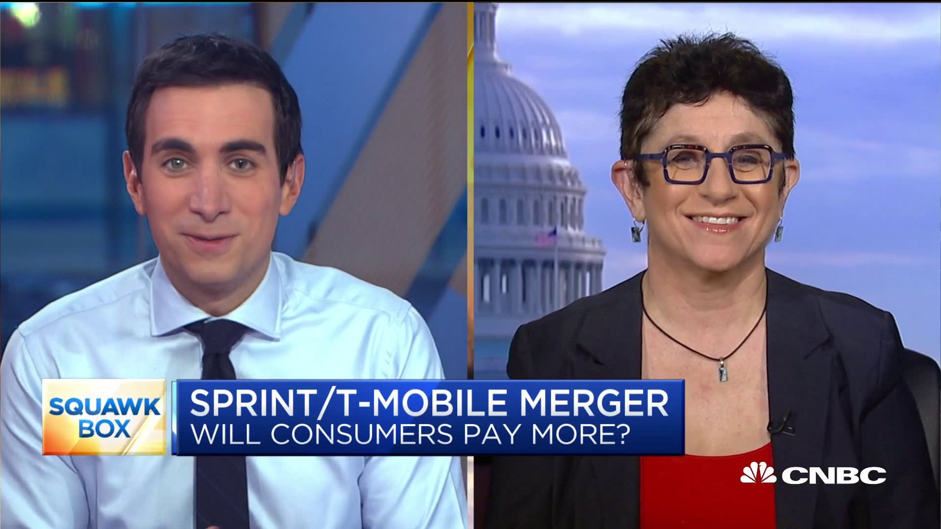 T-Mobile-Sprint merger critic voices her concern for consumers