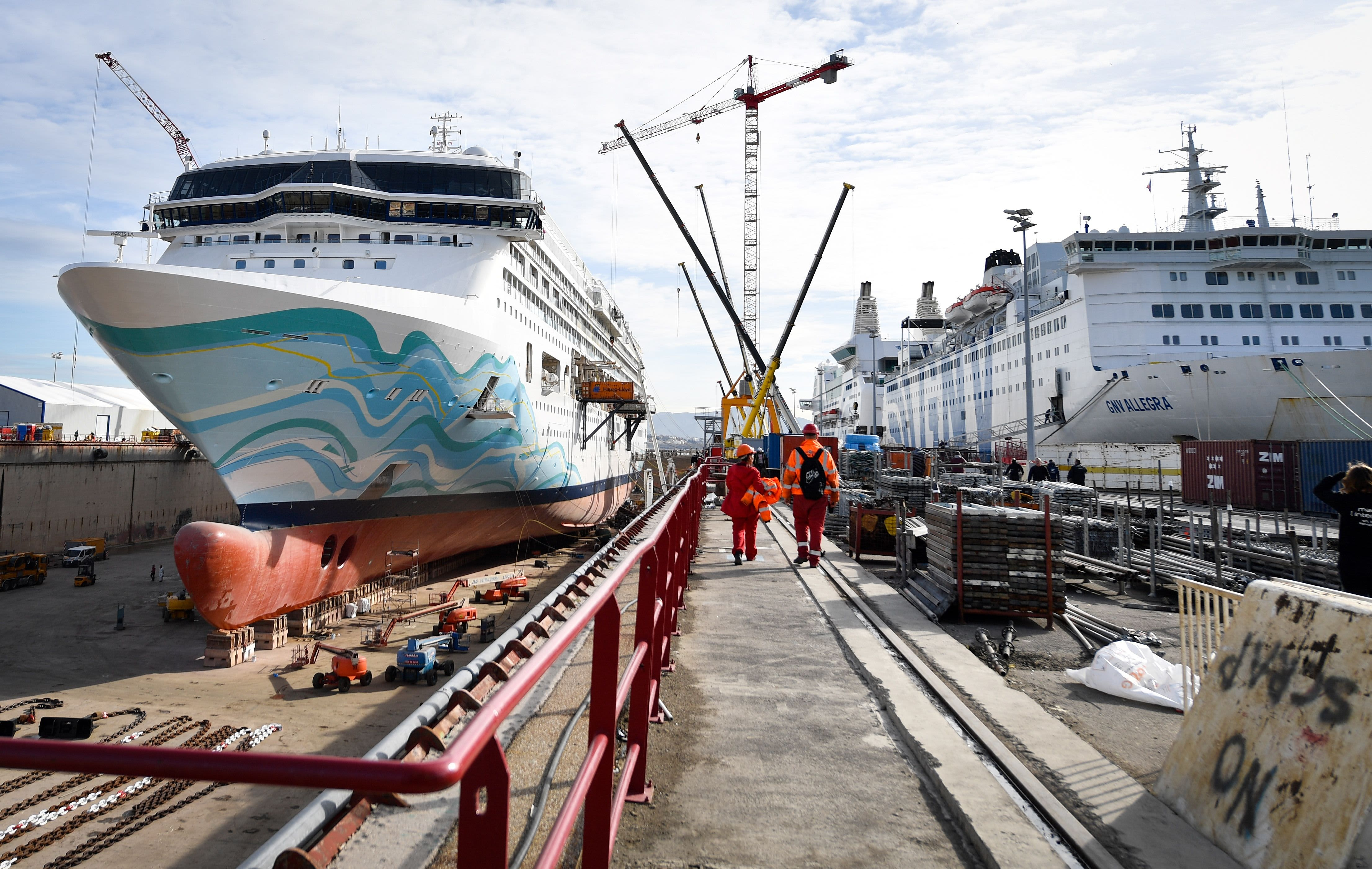 Norwegian Cruise Line says there's 'substantial doubt' about its ability to continue as a 'going concern'