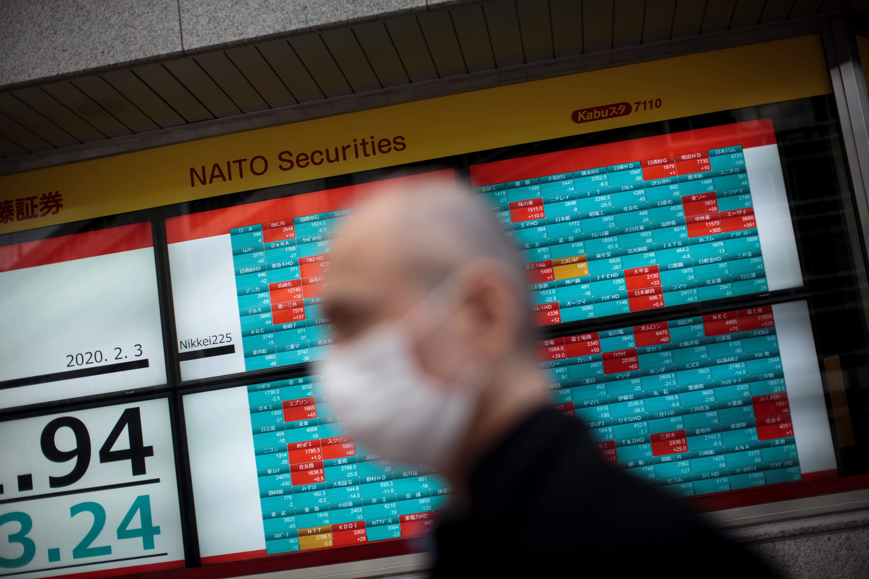Japan drops 3% as investors continue to assess economic impact of coronavirus pandemic