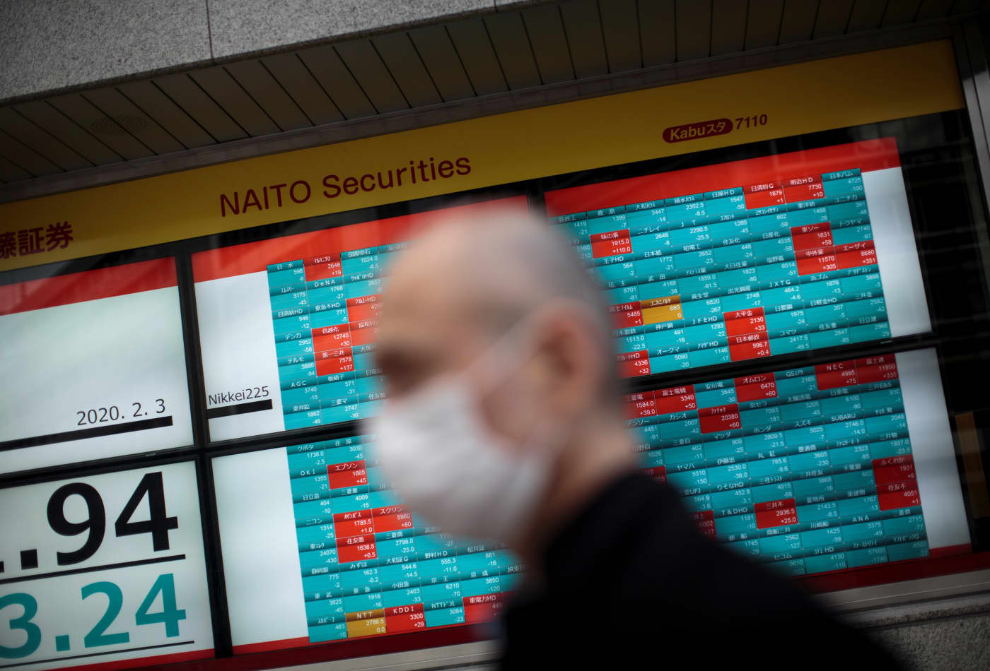 Most major Asian markets lower; shares of SMIC in Hong Kong tumble as U.S.-China tech tensions rise