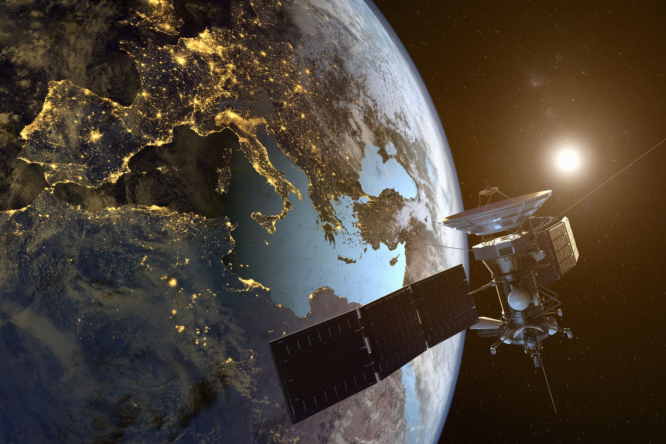 Space companies are racing to beam web access to the entire planet. But 'space junk' is a big worry