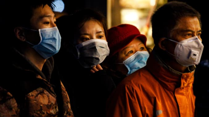 GP: Coronavirus, China face masks 200214