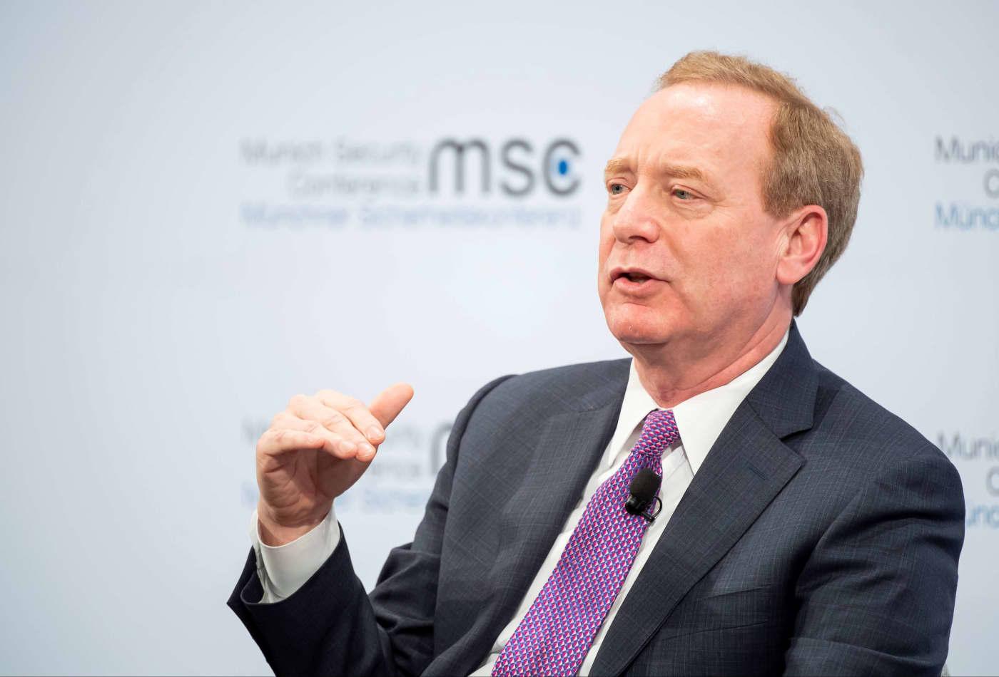 Microsoft president says big tech has 'fundamental responsibility' to protect US voting process