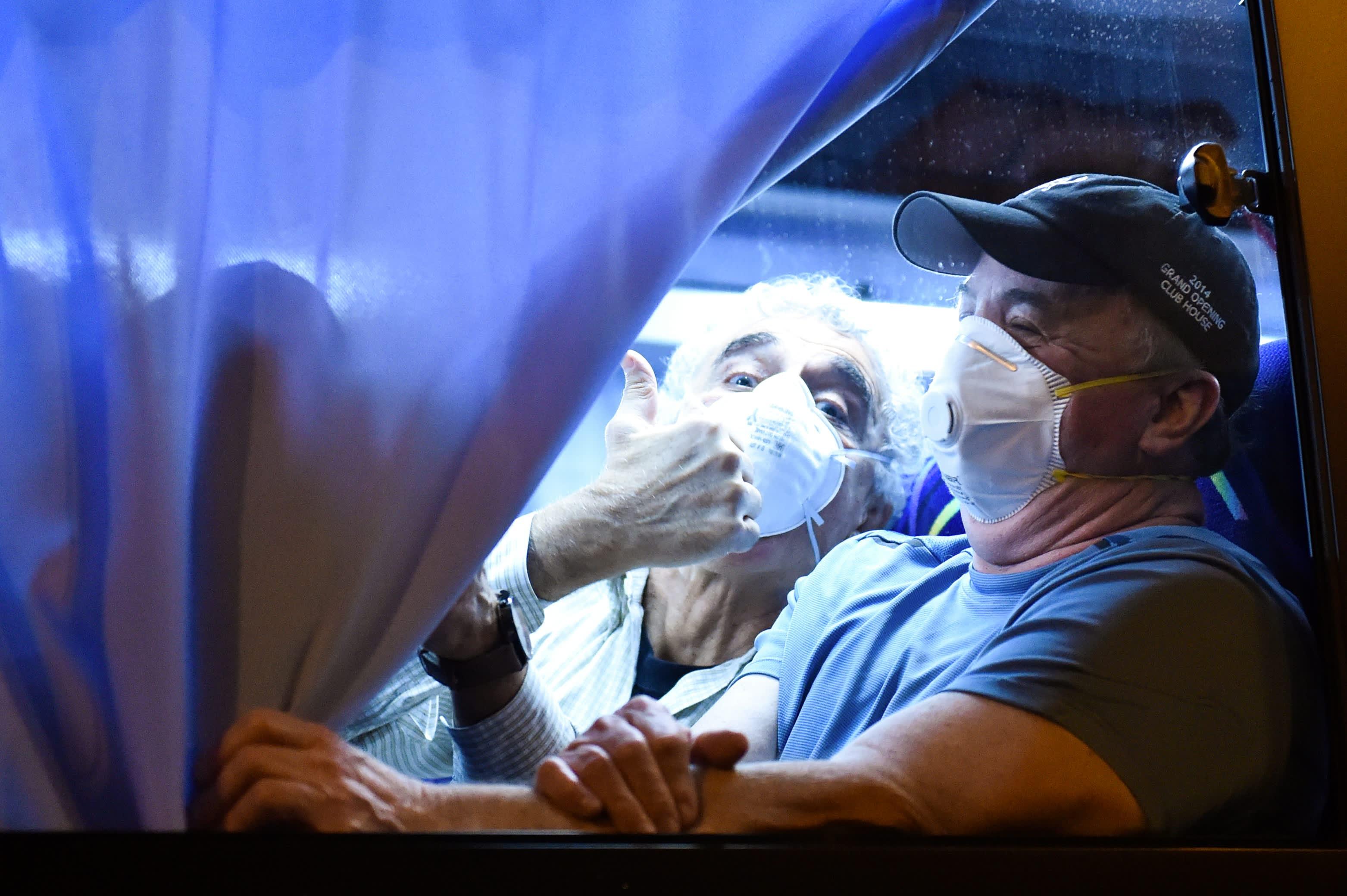 Coronavirus live updates: Americans begin evacuating quarantined cruise ship in Japan