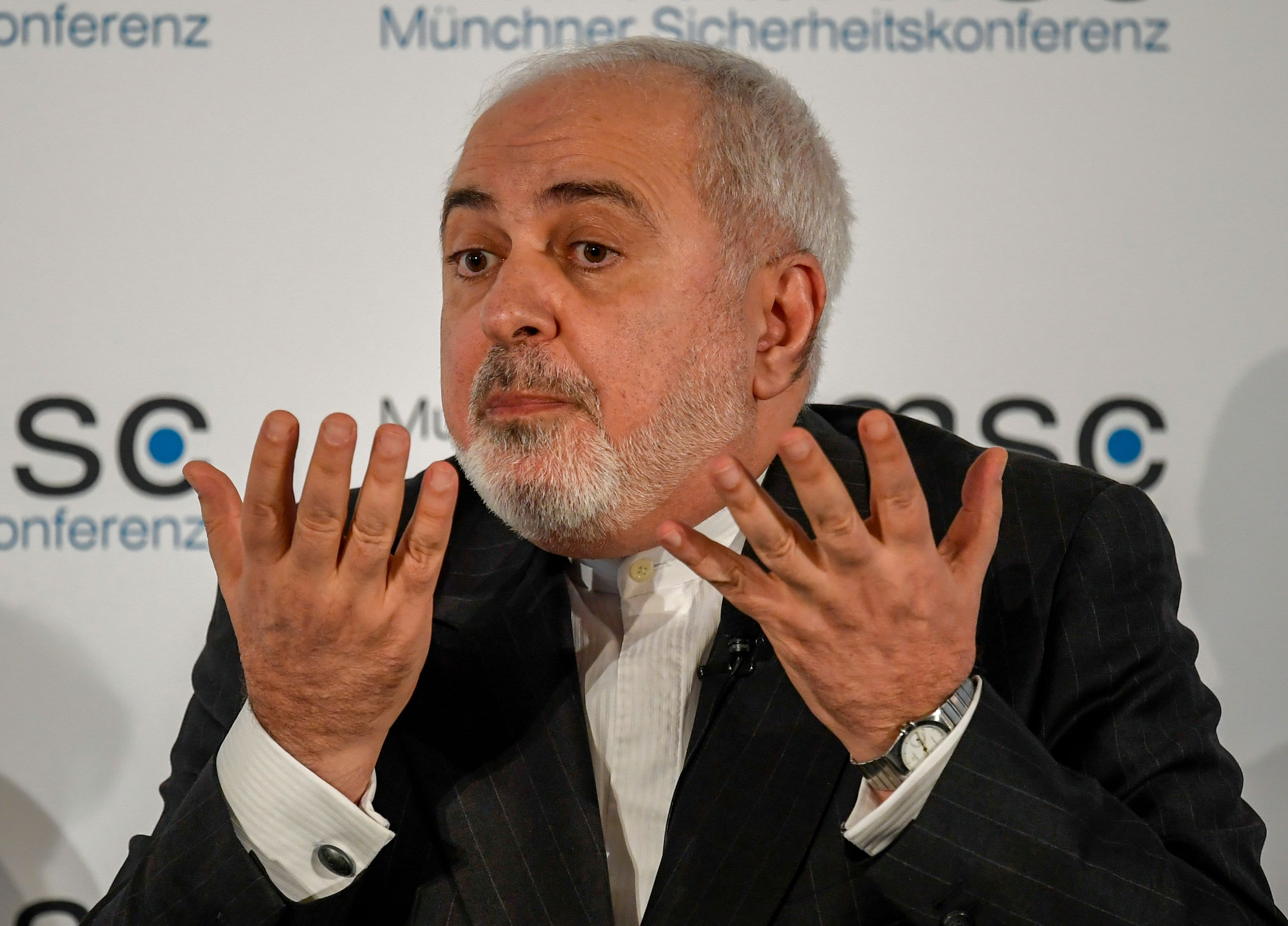 Iran's foreign minister blames US and Saudi Arabia for rising tensions in the Gulf