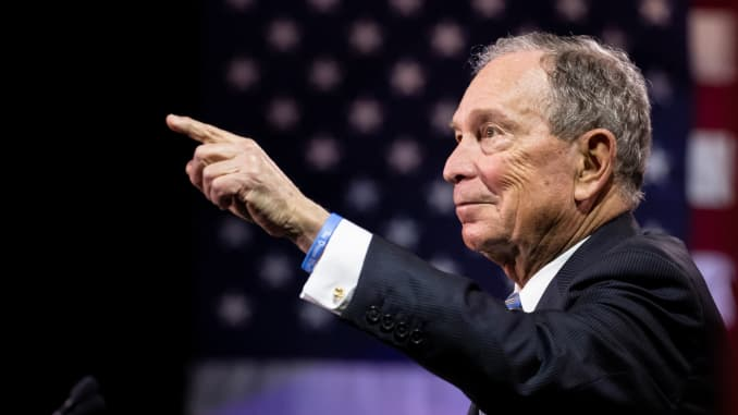 Bloomberg qualifies for his first debate