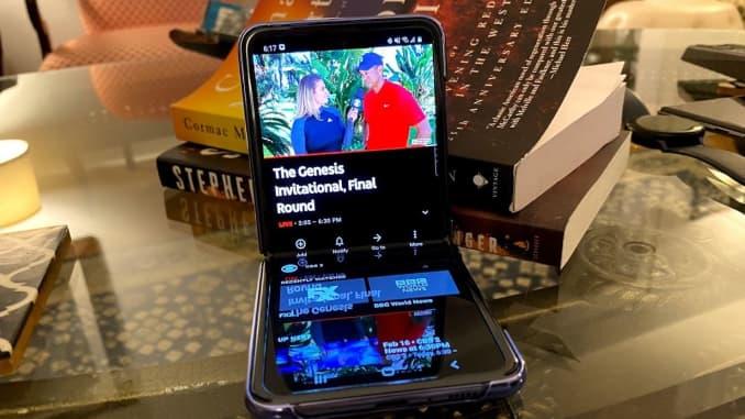 CNBC Tech: Galaxy Z Flip review 5