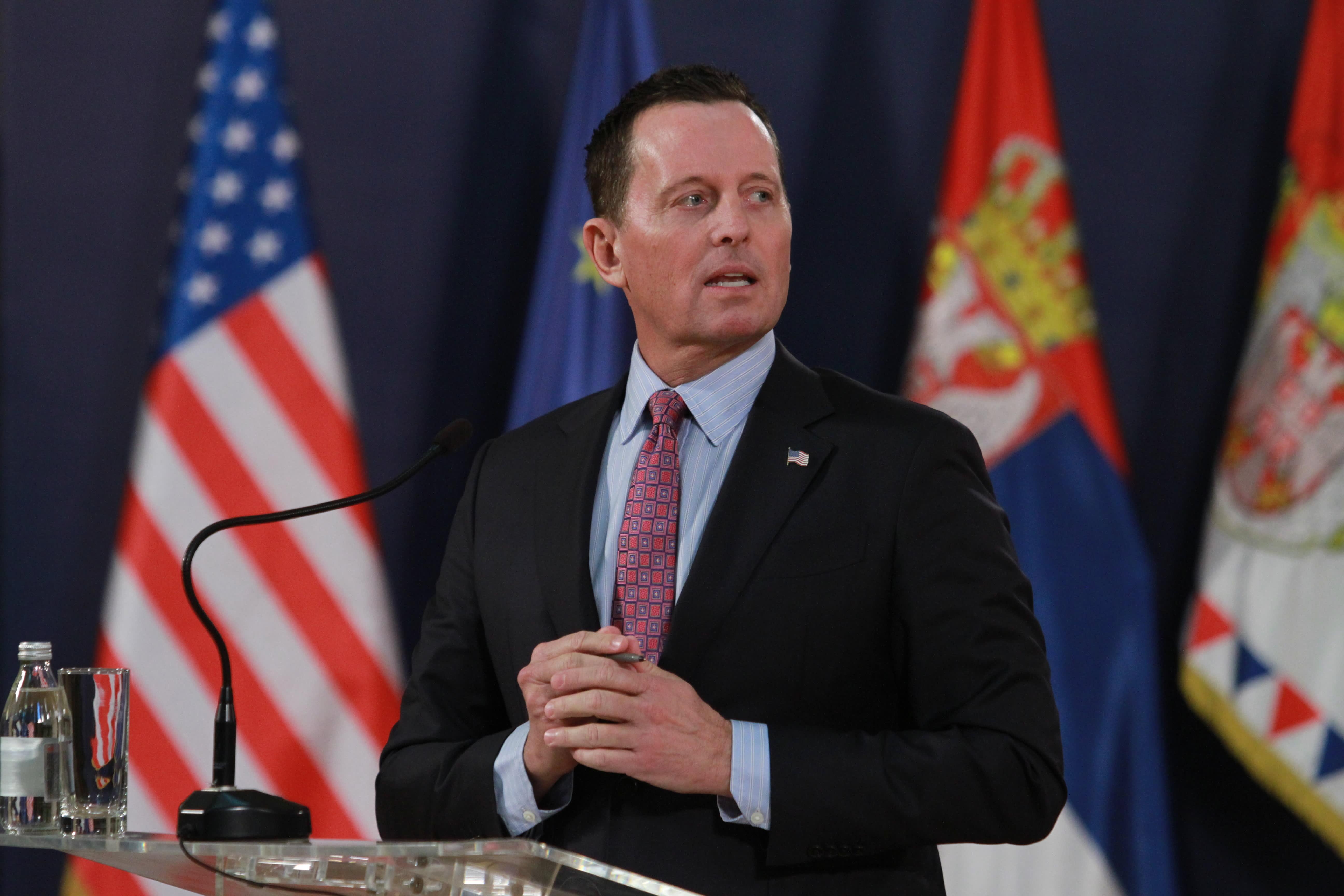 Trump names Ambassador Richard Grenell acting director of national intelligence