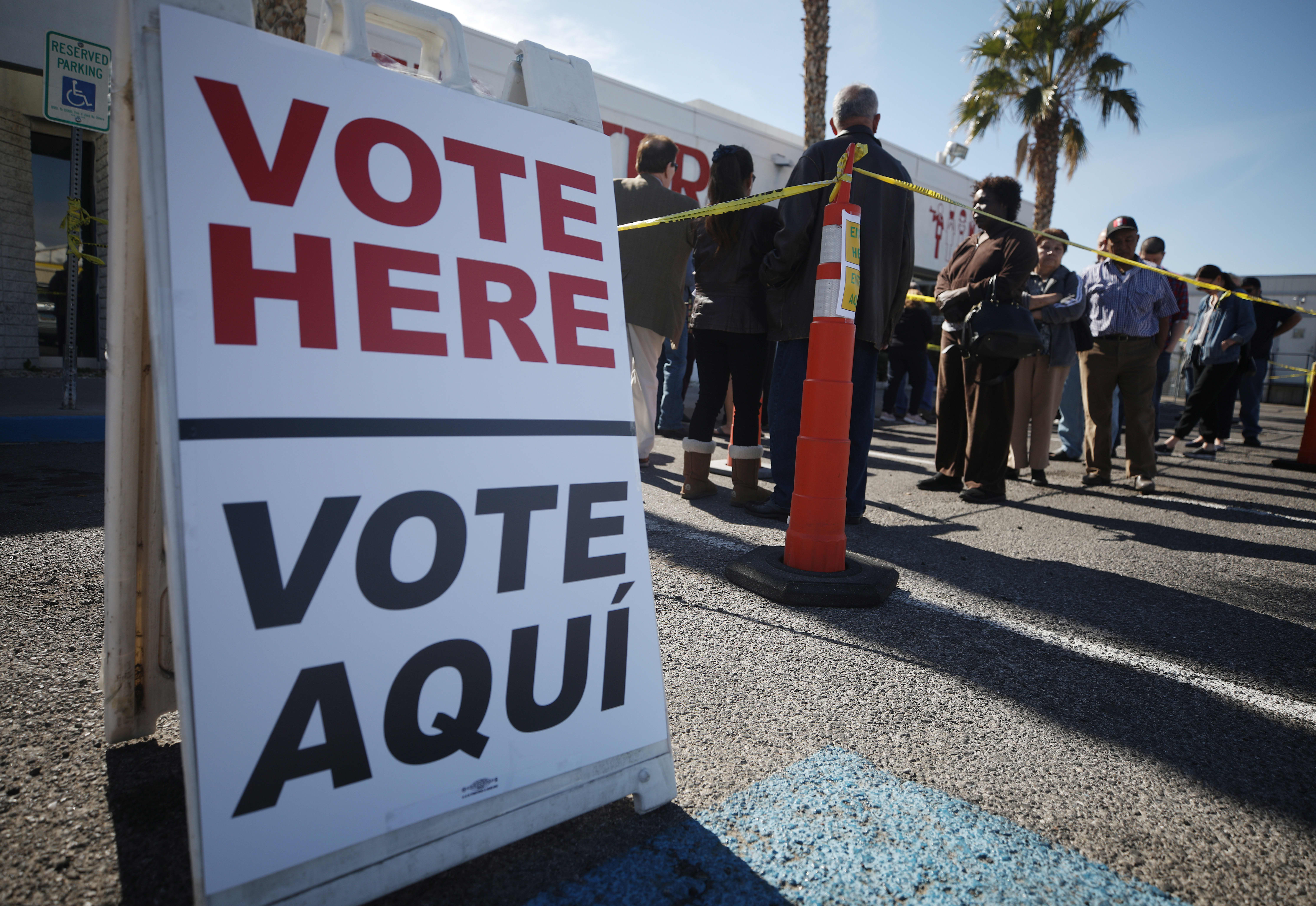 The Nevada Democratic caucuses are about to start: Follow the results here