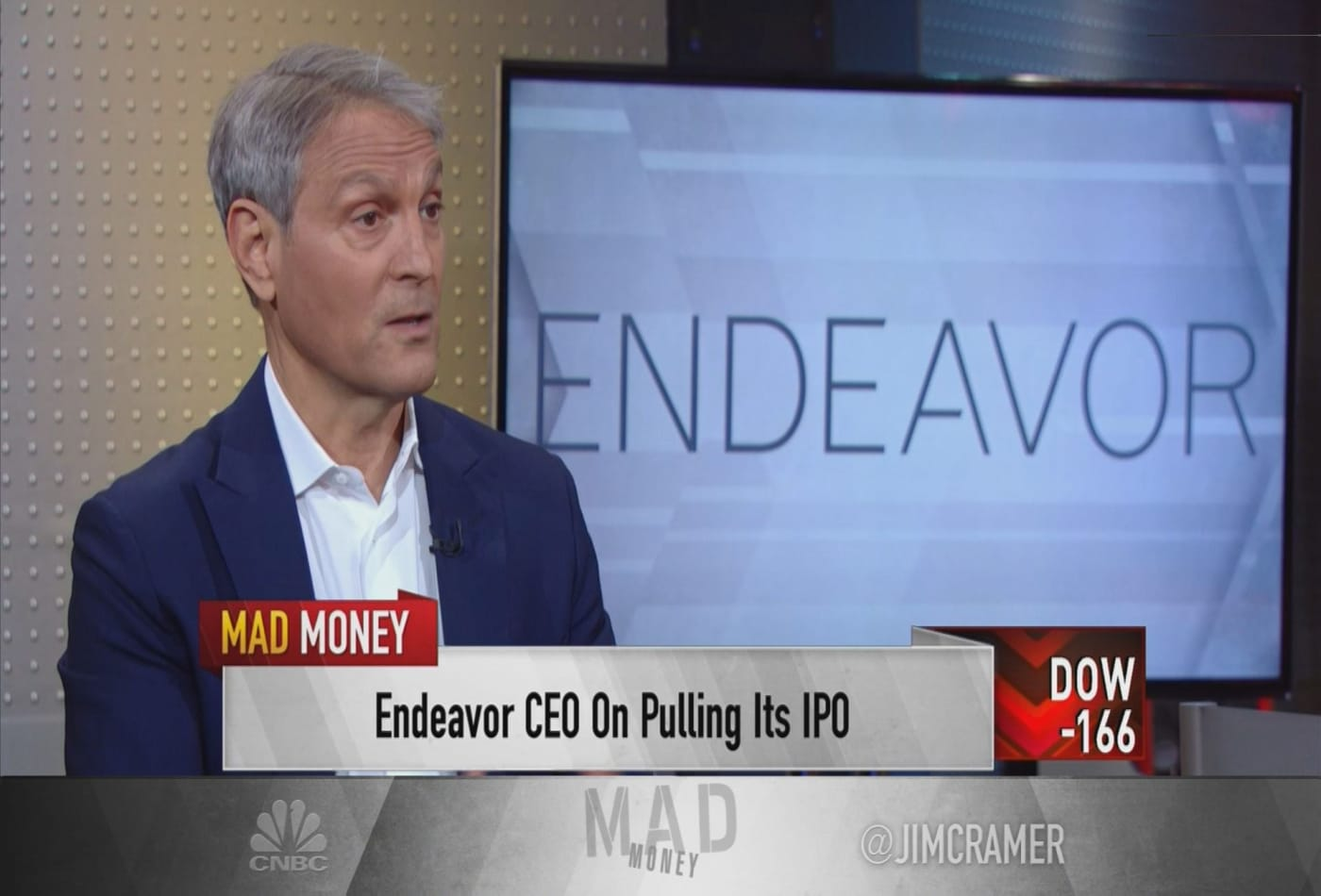 Endeavor Group CEO talks transformation of company, entertainment industry