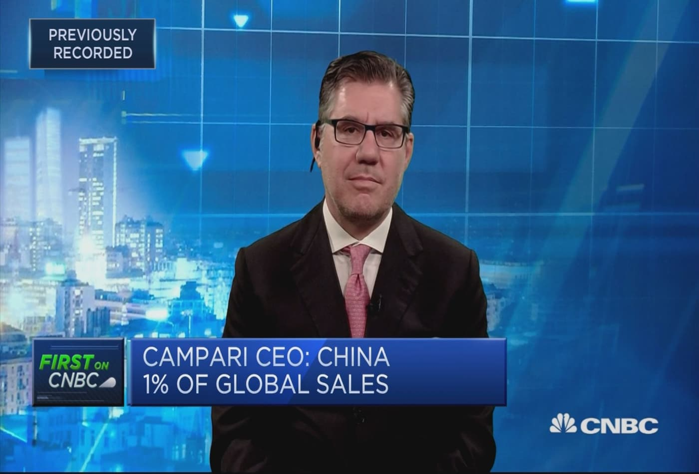 Investing significantly into fundamentals of our business, Campari CEO says