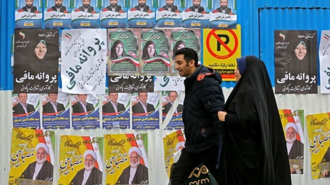 GP PA Iran parliamentary elections 2020 Tehran