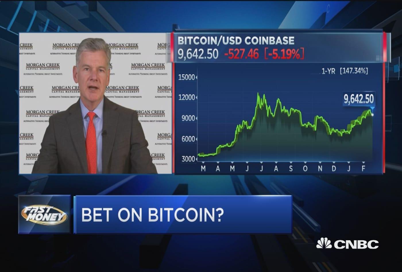 Morgan Creek Capital's Mark Yusko weighs in on bitcoin