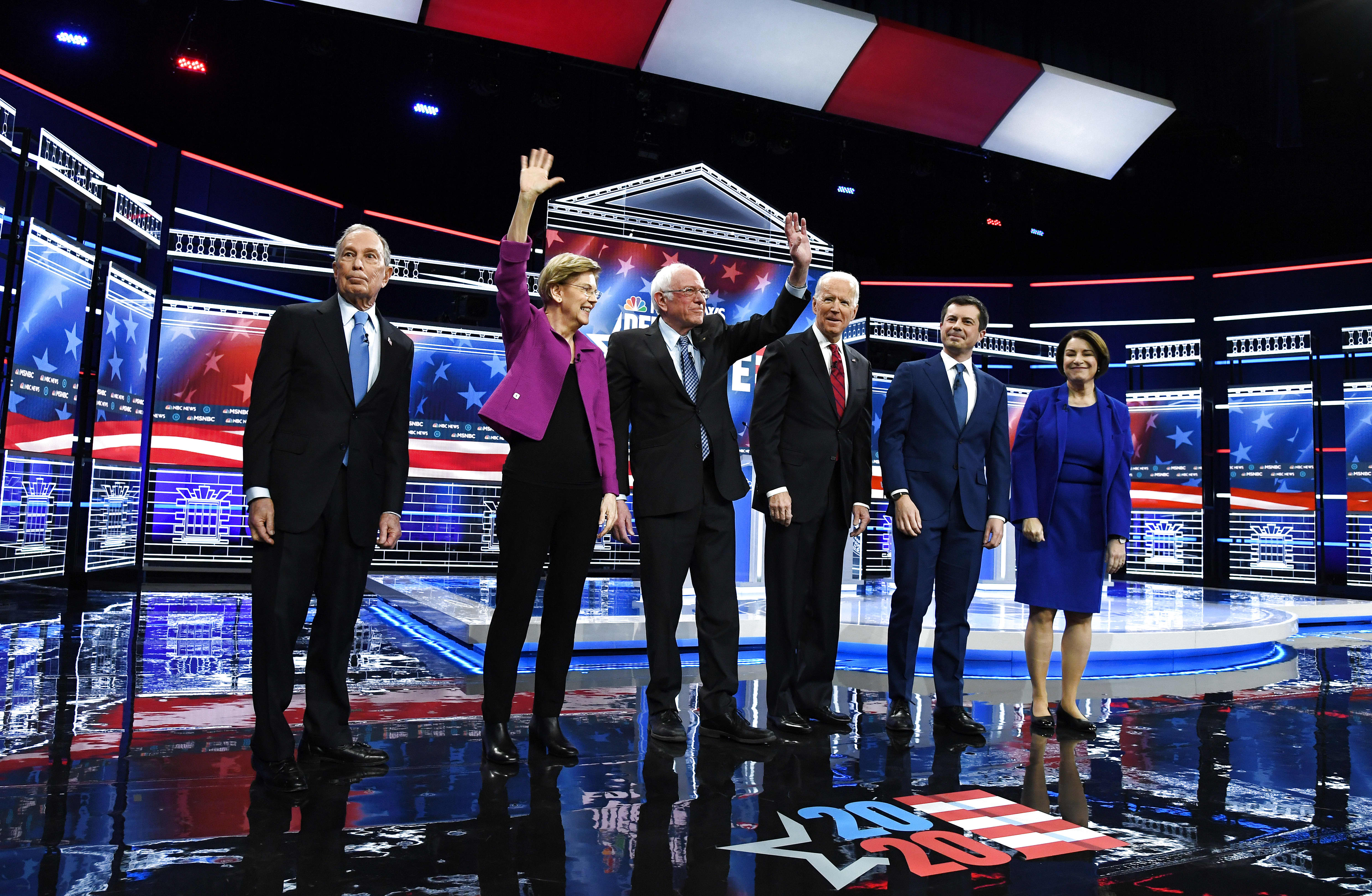 Elizabeth Warren came out swinging, and Mike Bloomberg was left battered — highlights from the Nevada Democratic debate