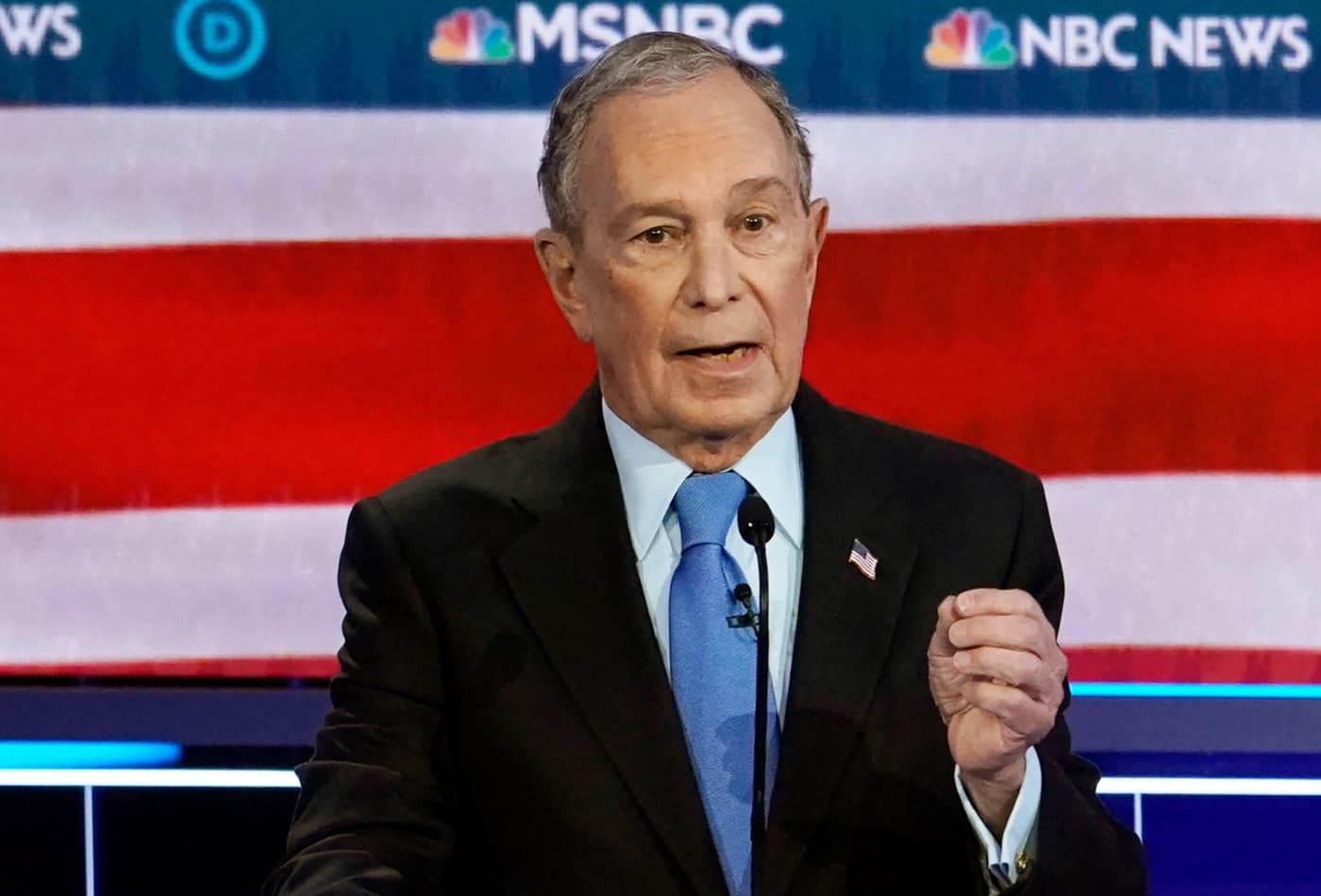 Mike Bloomberg takes a beating at Democratic debate as Elizabeth Warren leads the attack