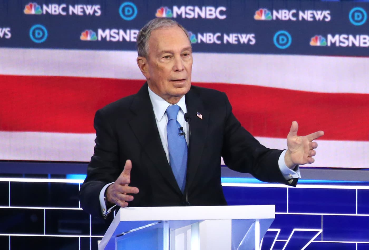 Bloomberg's debate debacle may be the 'beginning of the end' of his 2020 run, pollster says
