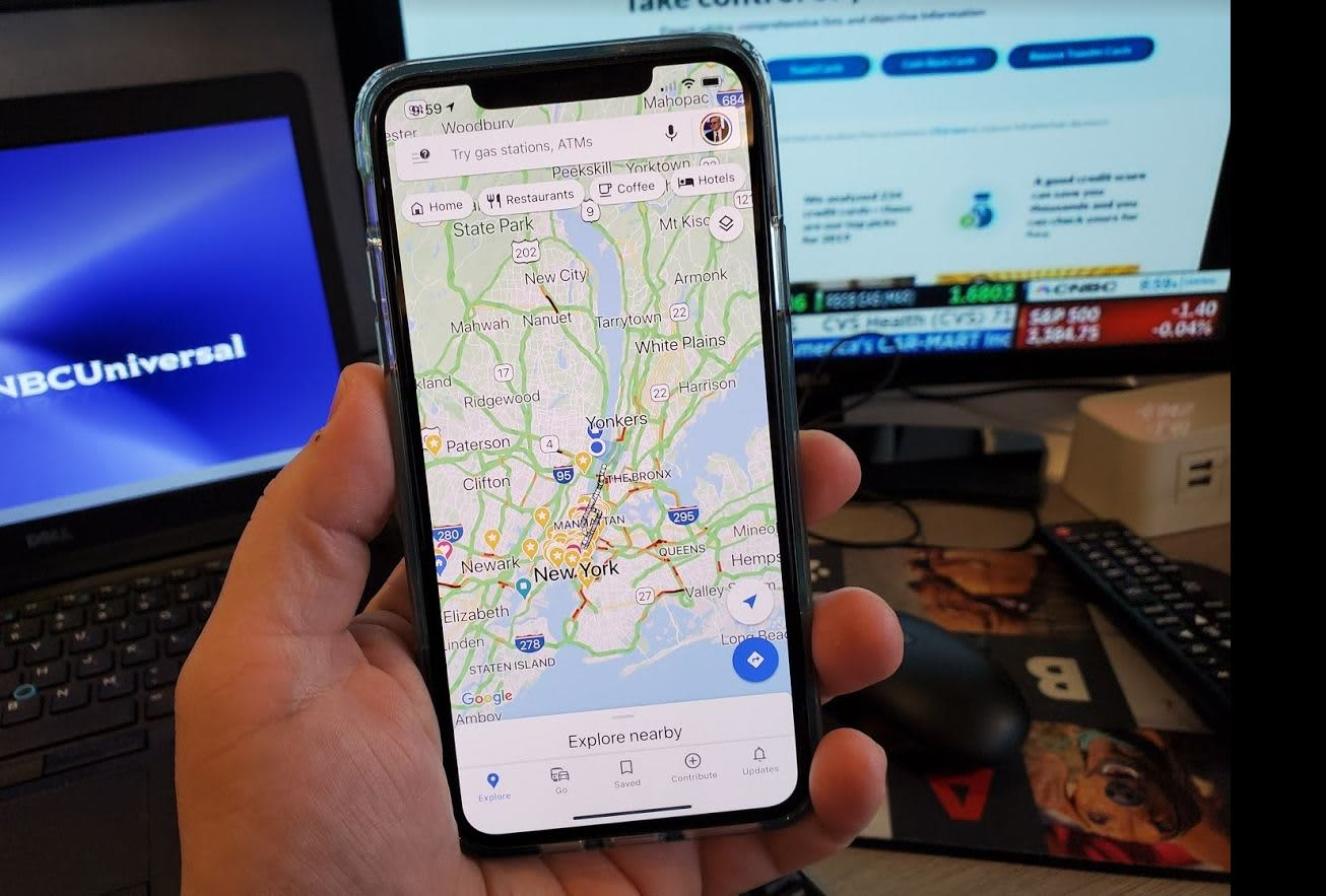 The new Google Maps for iPhone and Android is great — here's how to use what's new - CNBC
