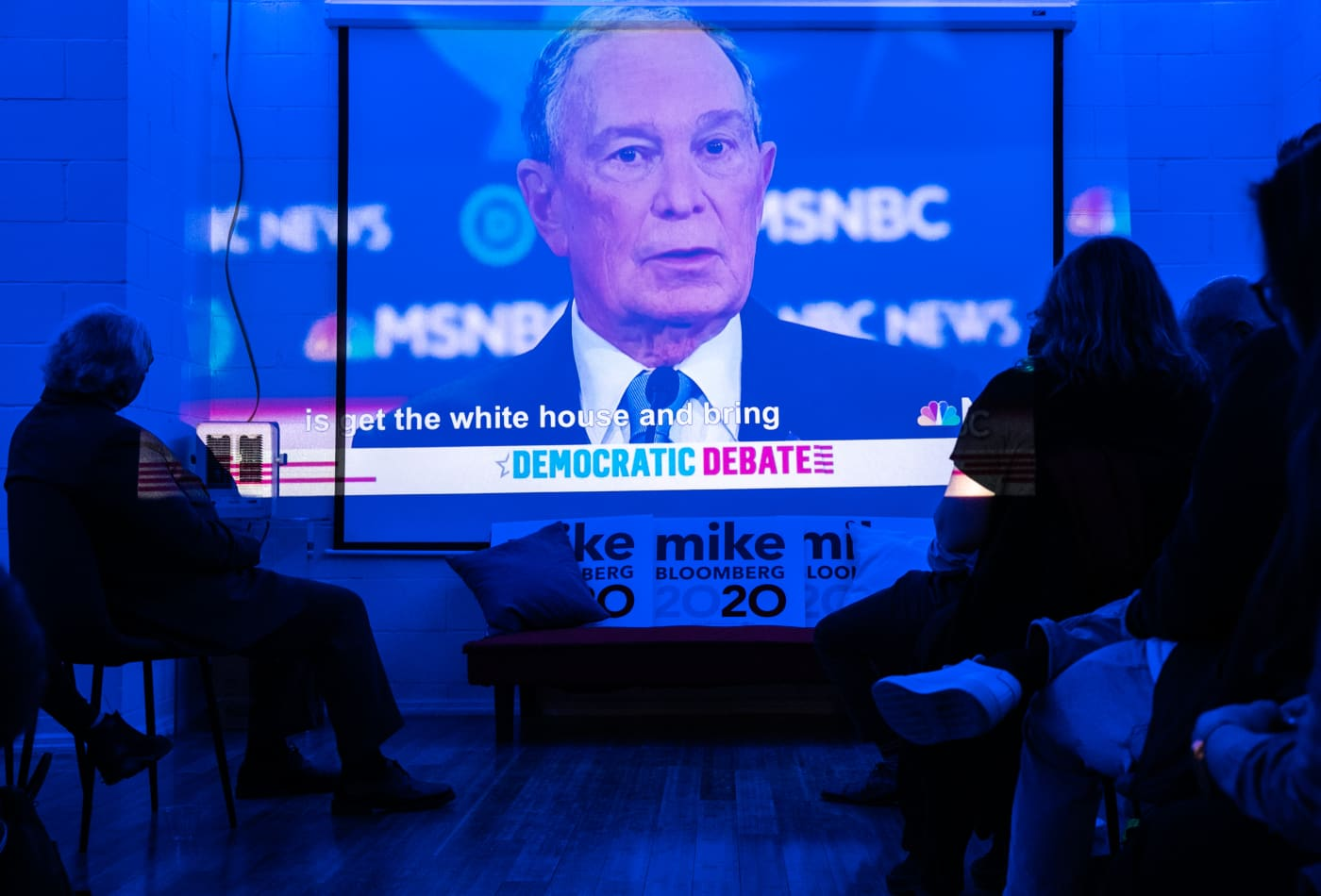 Mike Bloomberg gets hammered in betting markets after facing tough questions in first debate