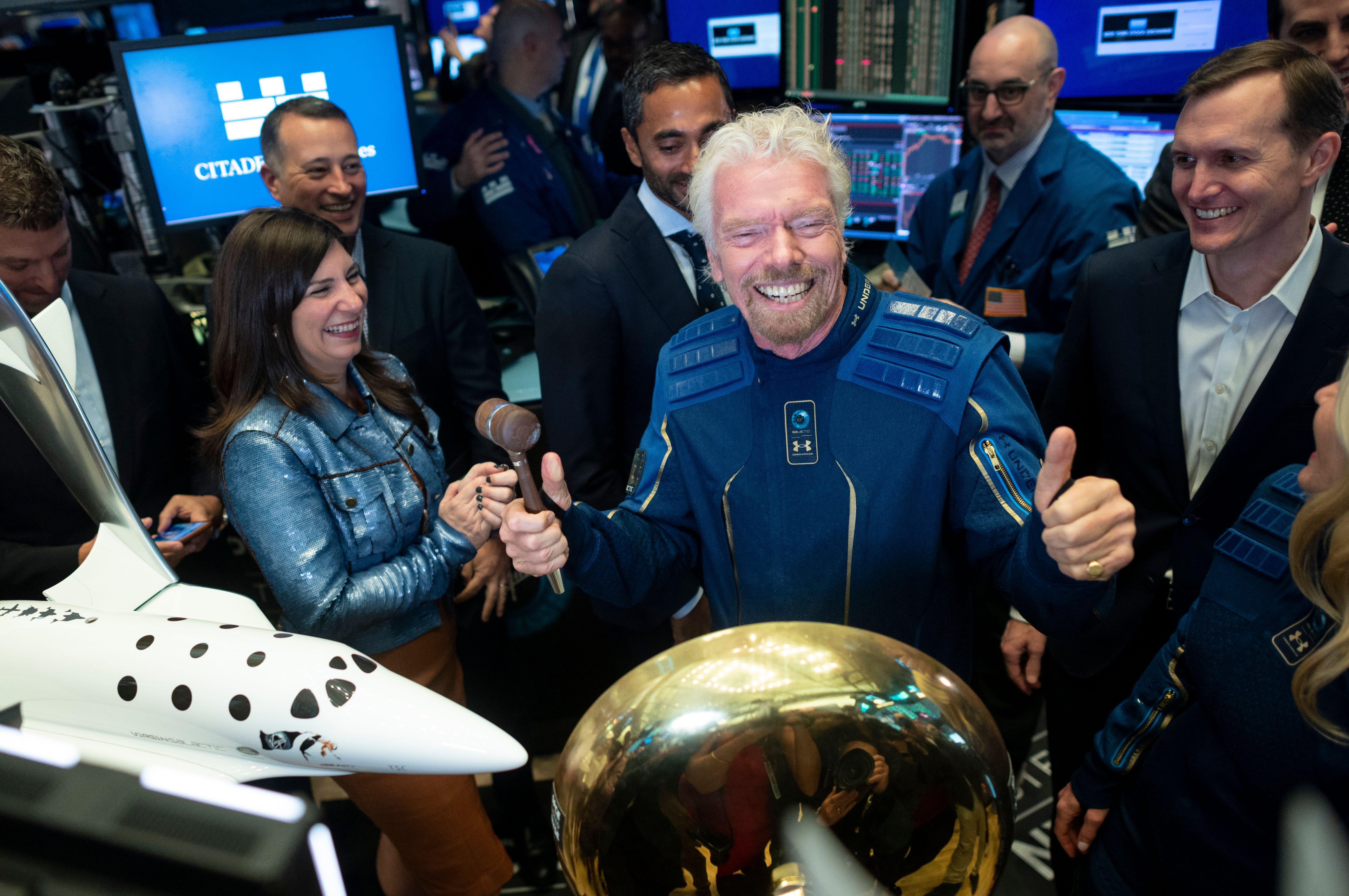 Richard Branson sells over $150 million in Virgin Galactic stock