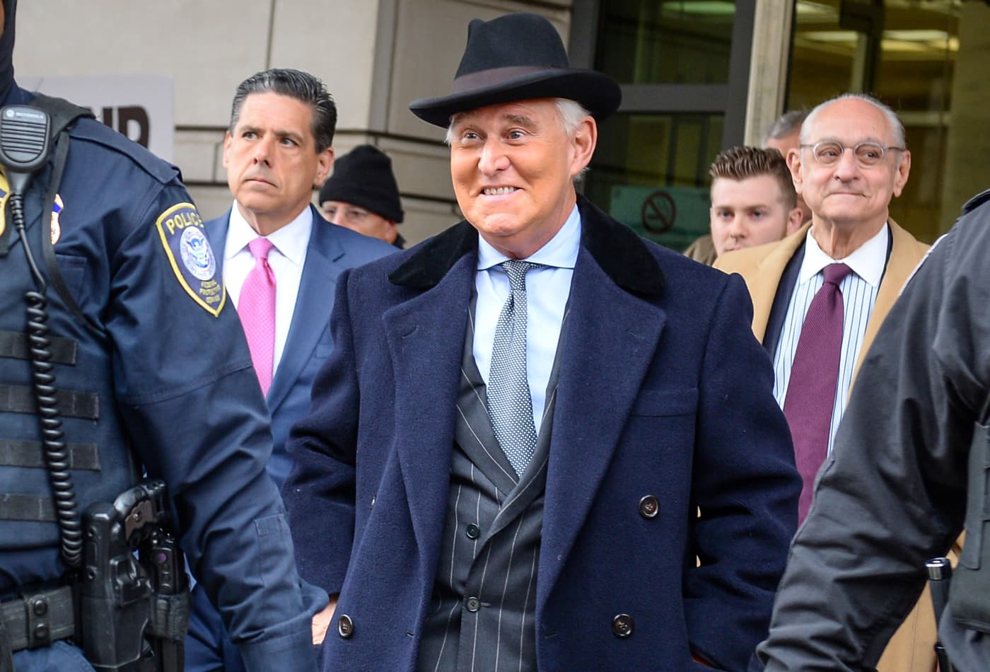 Roger Stone sentenced to over 3 years in prison as judge slams him for 'covering up for' Trump