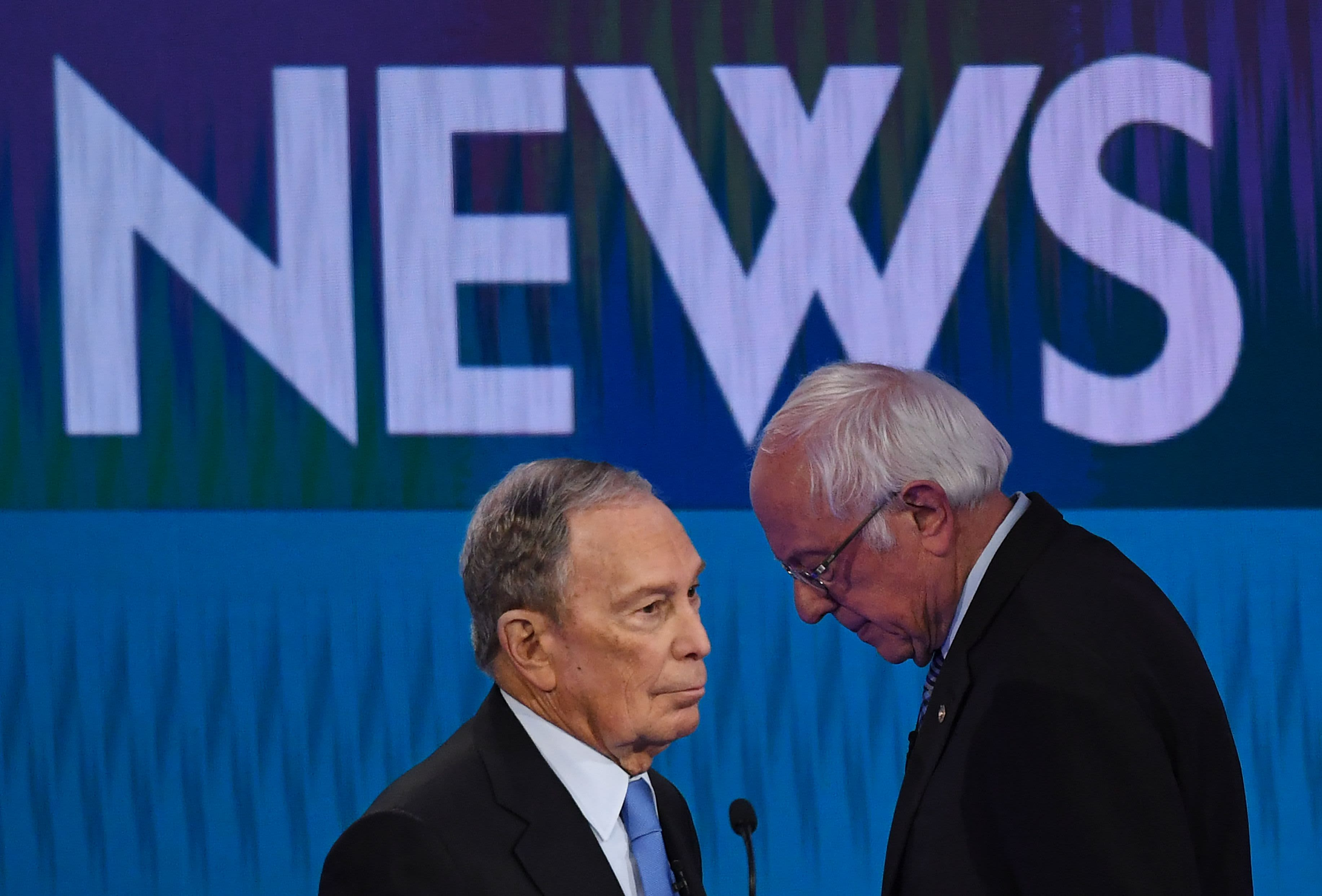 Op-Ed: Mike Bloomberg is buying the nomination – for Bernie Sanders
