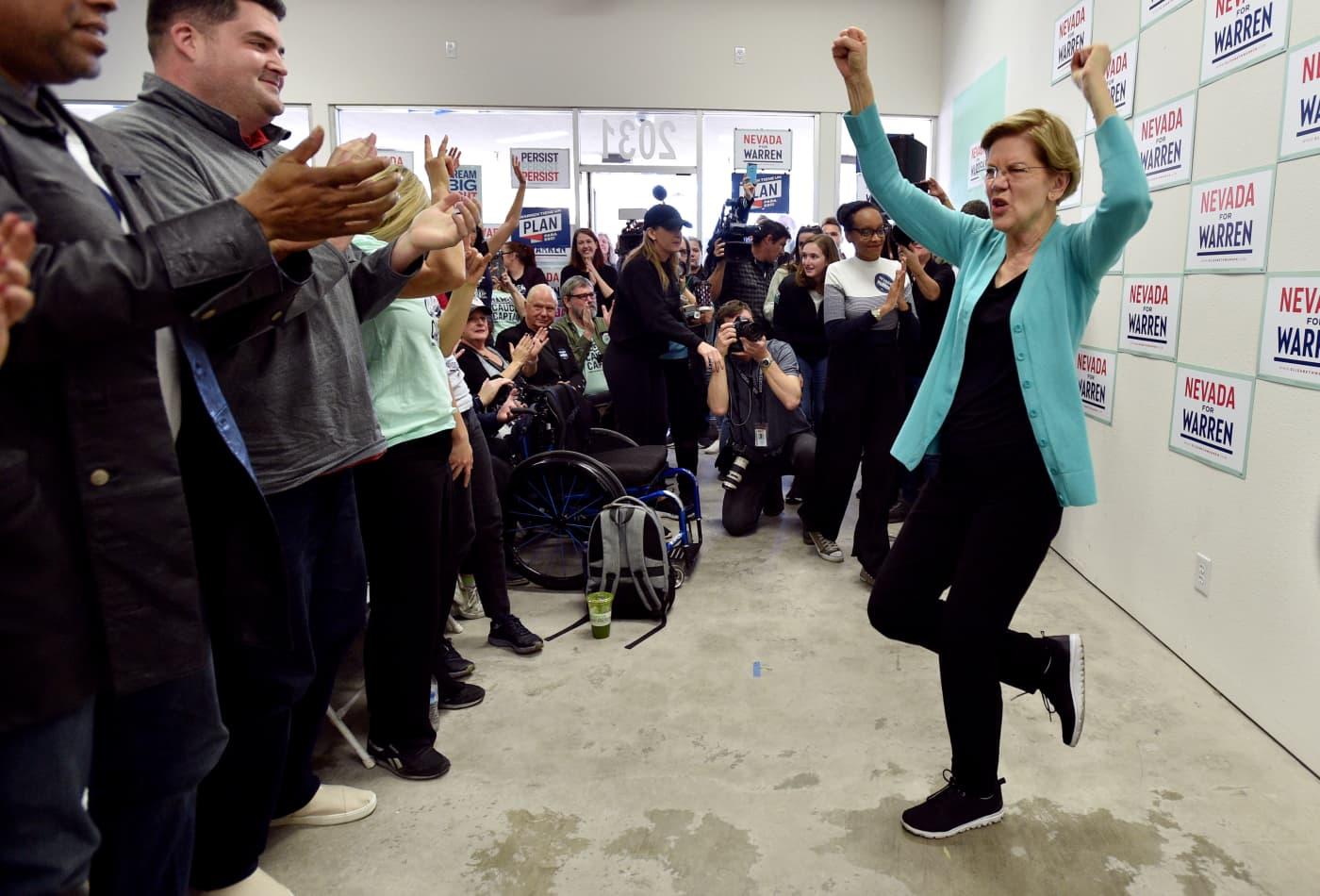 Elizabeth Warren reverses her position on super PAC support as she seeks comeback