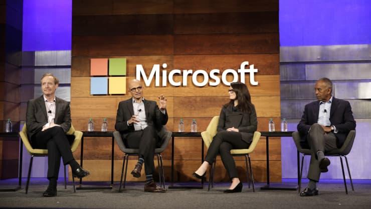 Here are the most important execs at Microsoft under Satya Nadella