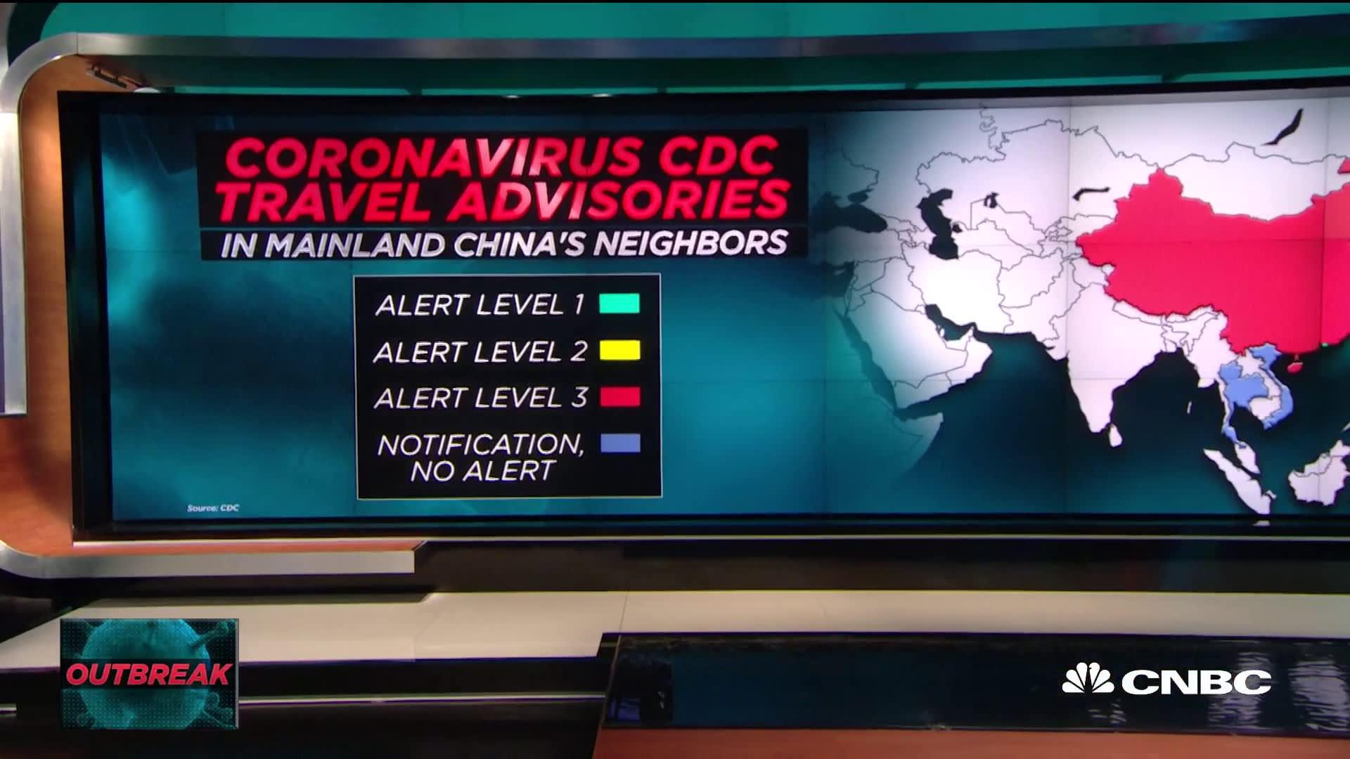 coronavirus cdc level