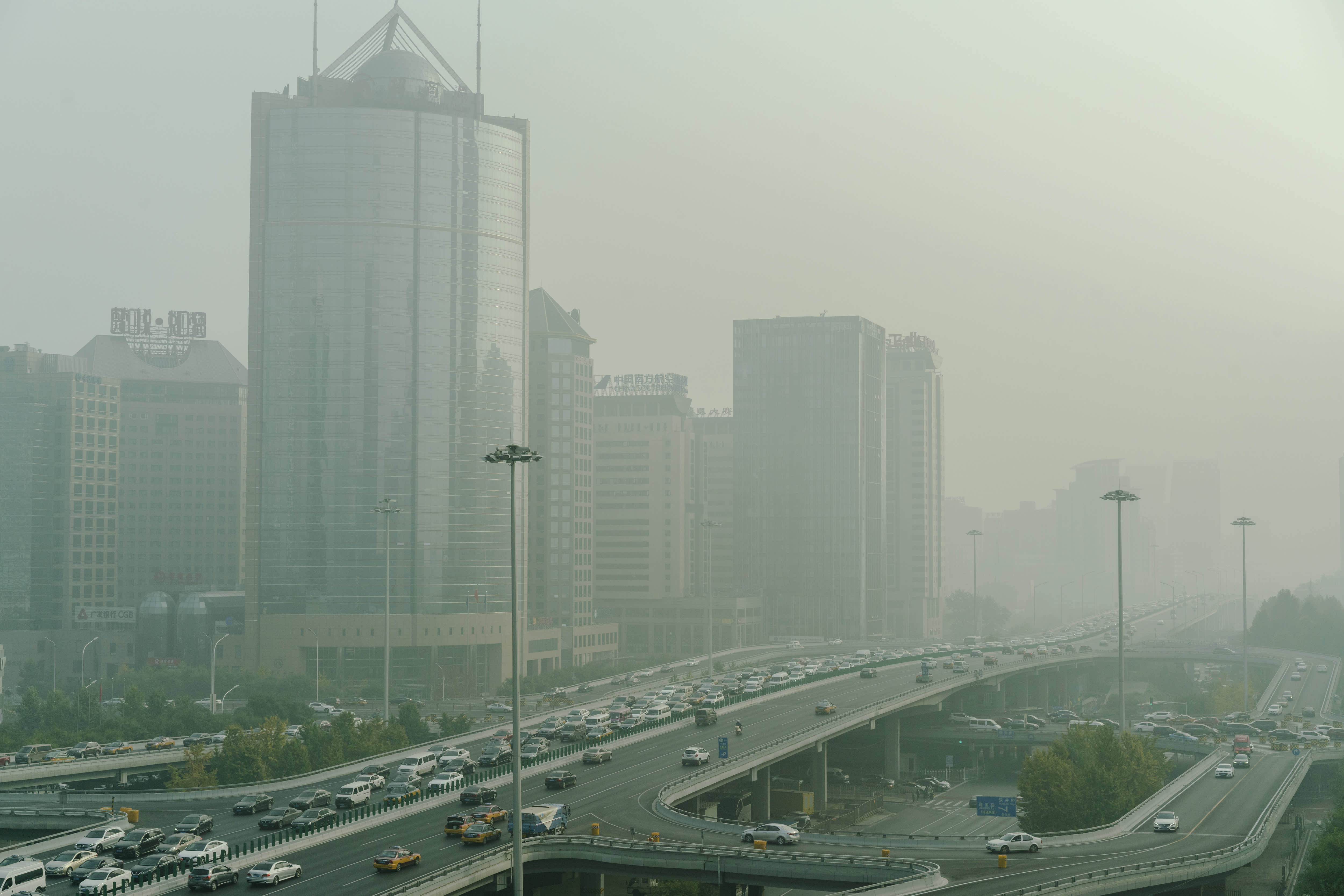 China's recent air pollution levels may be telling a story about the coronavirus impact on its economy