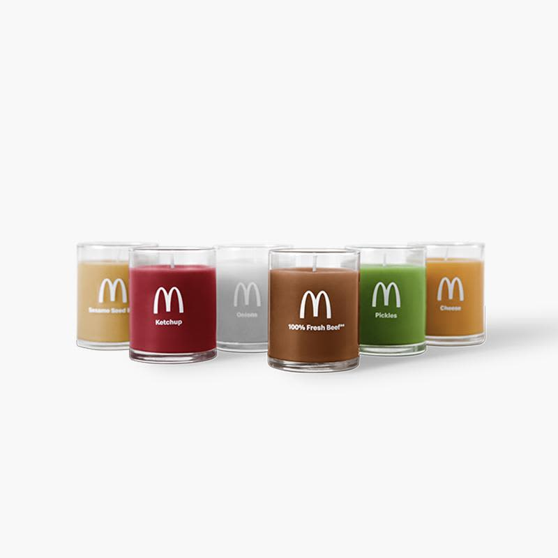 Why McDonald's is putting out a beef-scented candle
