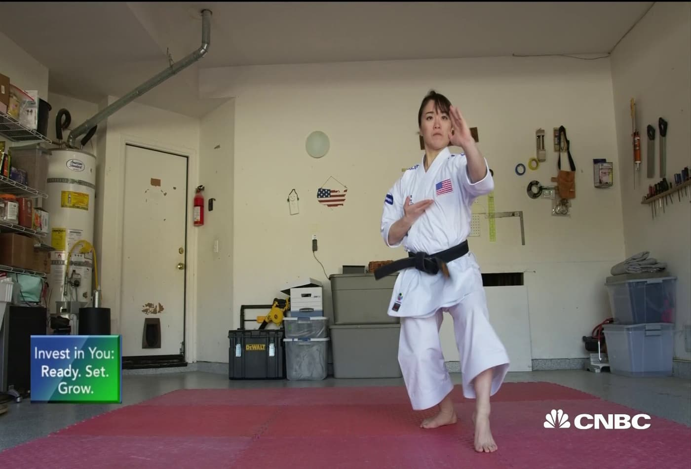 How this female karate master quit her job to go for 2020 Olympic gold
