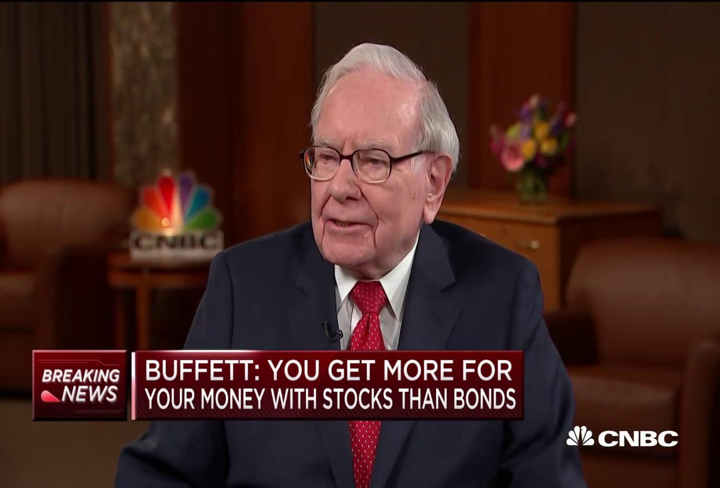 Warren Buffett: I've been a net buyer of stocks every year since I was 11