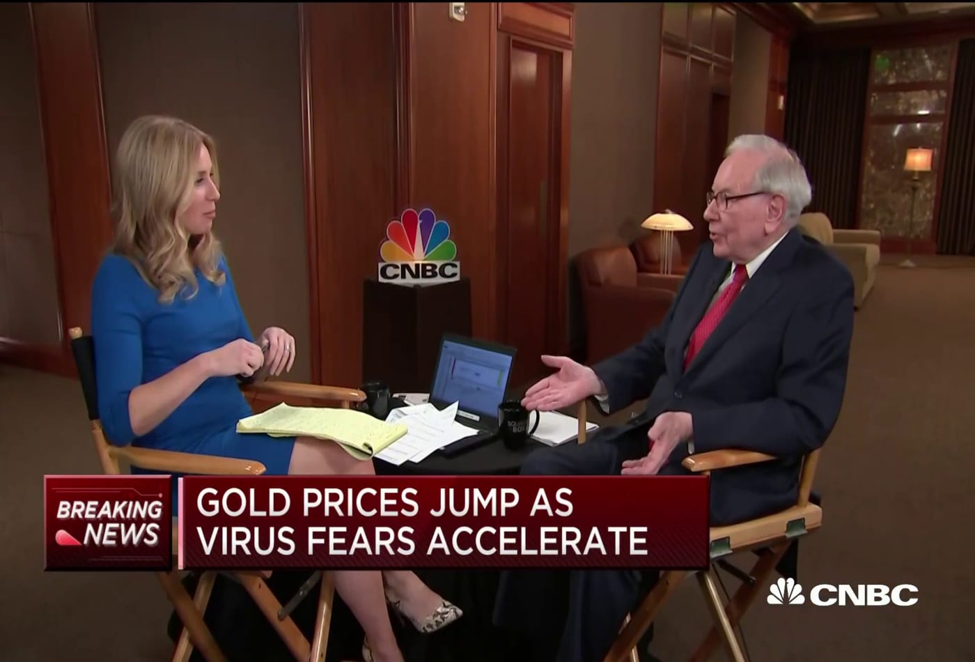 Warren Buffett: Berkshire is worth the same with or without me